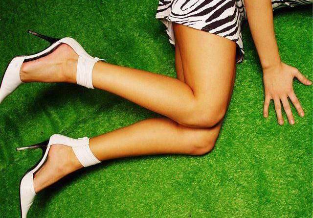 красивые гладкие ножки