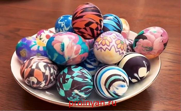 Как красить яйца на пасху в домашних условиях – самые лучшие и интересные способы